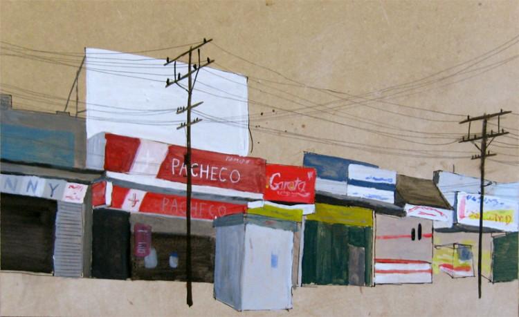 Rua Desconhecida (4), een onbekende straat in Rio de Janeiro