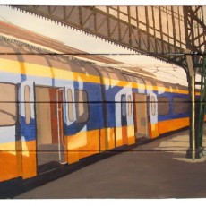 Perron 3b van het station van 's Hertogenbosch