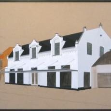 Gasthuisstraat 1908-2009, Veghel. Voormalig dansschool Verhoeven en later snackbar Jopie